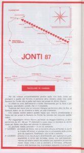 Foto con cartina spedizione Jonti 87