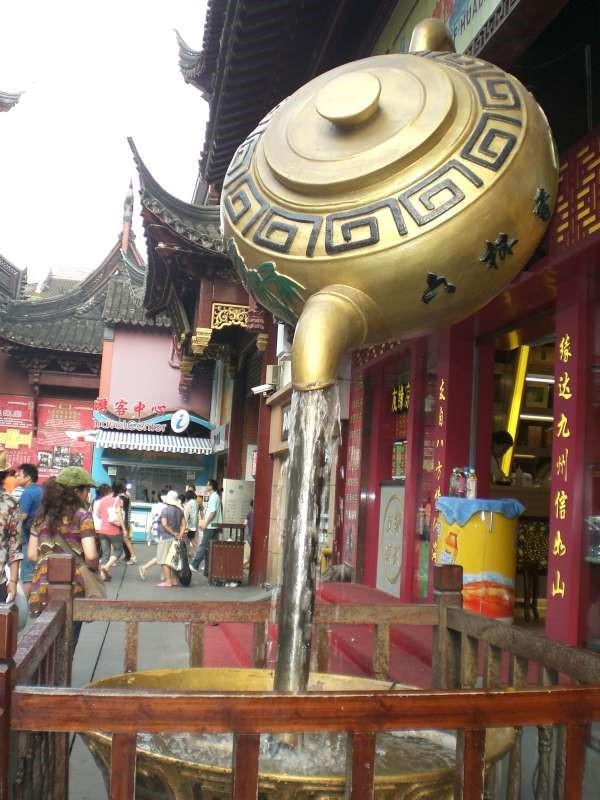 Foto fontana cinese - Shanghai