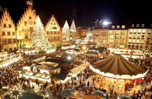 Foto dei mercatini di Natale