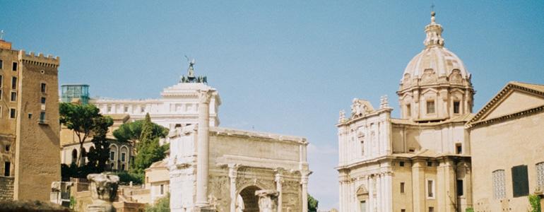 Luna a Roma