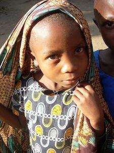 Foto di bambini in Tanzania