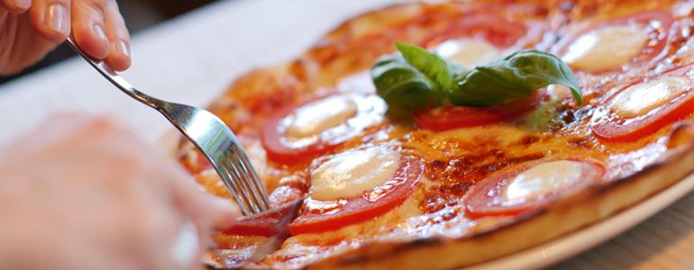 Lucilla e la pizza tricolore