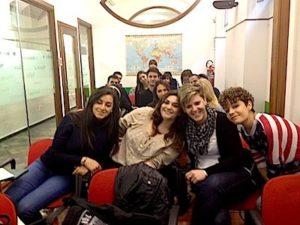Foto di classe primo anno TPST