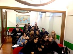 Foto di classe del TPST