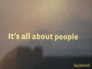 It's all about people