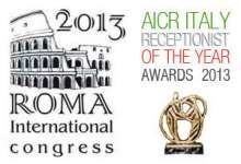 AICR Receptionist of the Year 2013: ci siamo anche noi!