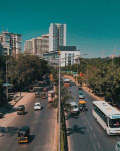 Strade di Mumbai