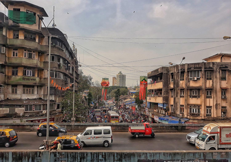 Le strade di Mumbai Boom