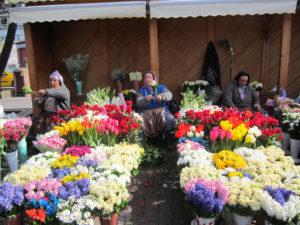 mercato dei fiori a Istanbul