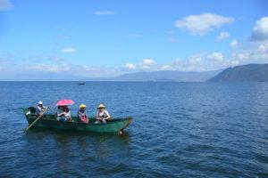 foto lago Cina