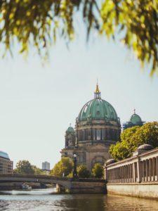 veduta città di Berlino