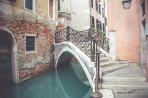 scorcio canale di Venezia