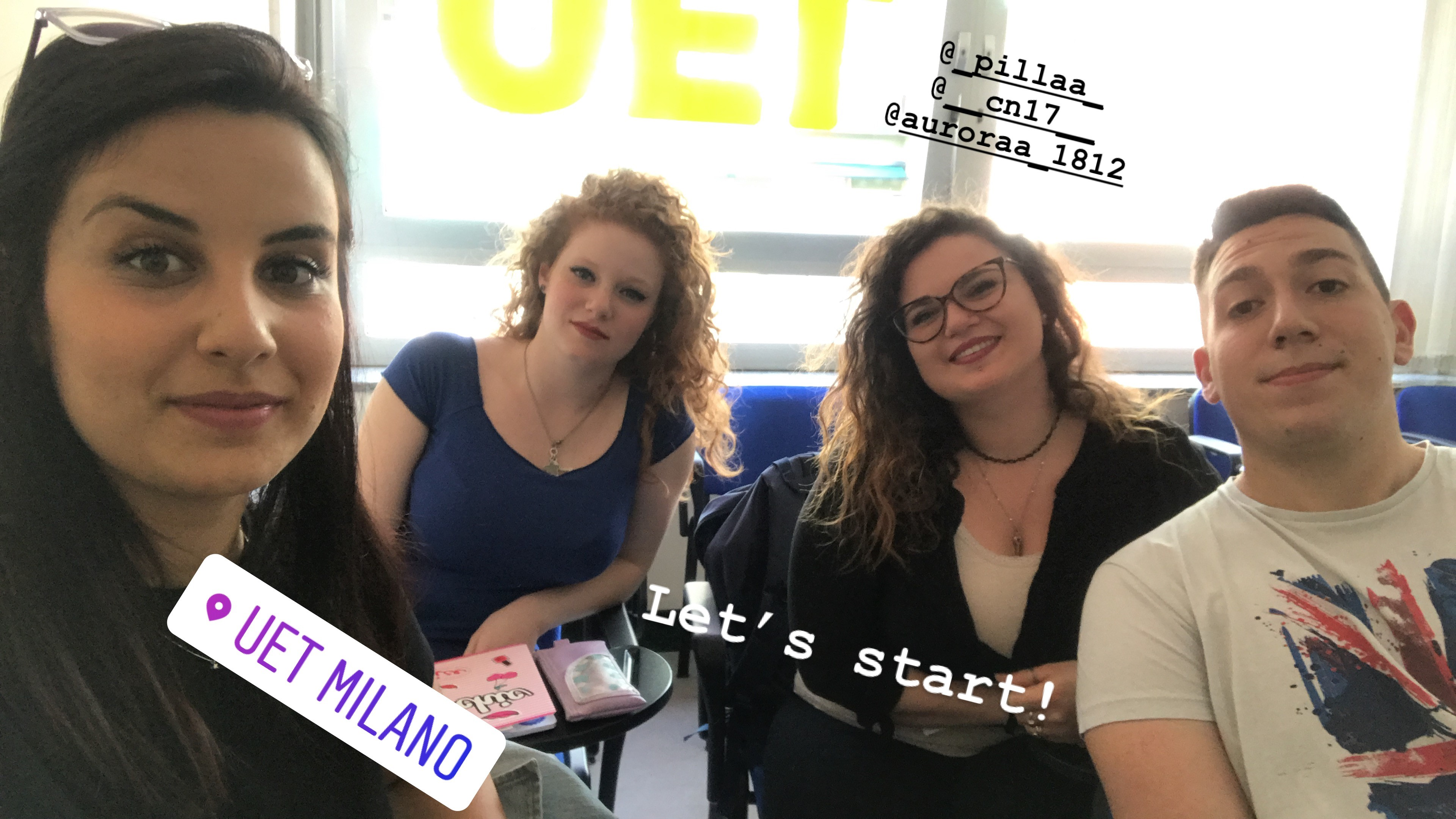 Parlano i partecipanti al BANDO TORNO SUBITO 2018 - REGIONE LAZIO presso la UET Milano