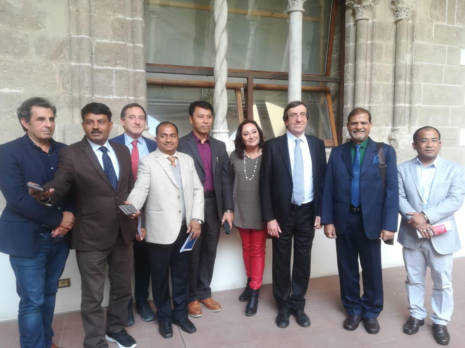 UET ospita una delegazione indiana in occasione del Convegno sul Turismo