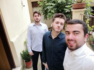 Matteo Masella con compagni