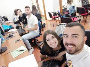 Matteo Masella ed altri studenti