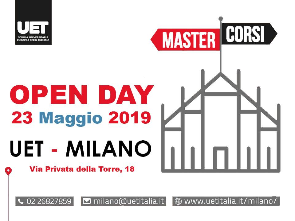 Banner Open Day UET Milano