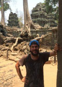 Avventura in Cambogia, foto di Giulio ad Angkor