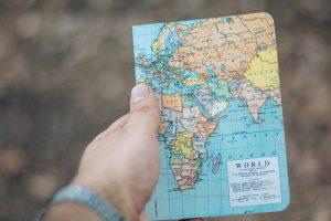 Foto quaderno Travel