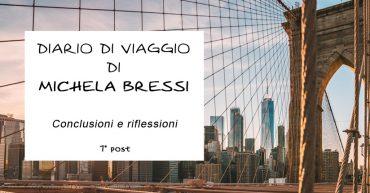 Diario di viaggio di Michela Bressi - 7 post