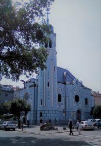 Foto della Chiesa Blu
