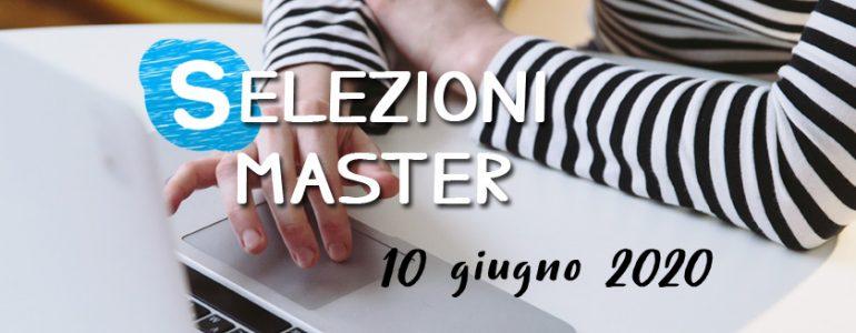 Selezioni Master UET Roma - 10 giugno 2020