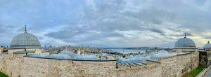 Foto panoramica di Istanbul