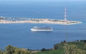 Foto arrivo a Reggio dal mare