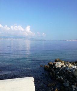 Prima foto della spiaggia di Reggio Calabria
