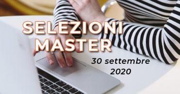 Selezioni Master UET Roma - 30 settembre 2020