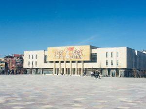 Foto del Museo Storico Nazionale di Tirana