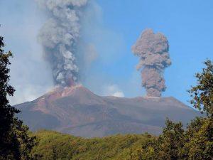 Foto dell'Etna e del giro con la littorina