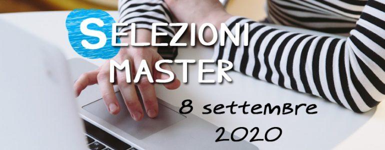 Selezioni Master UET Roma - 8 settembre 2020