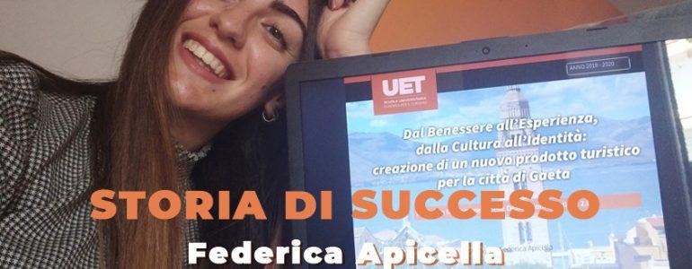 Federica Apicella e la sua storia di successo