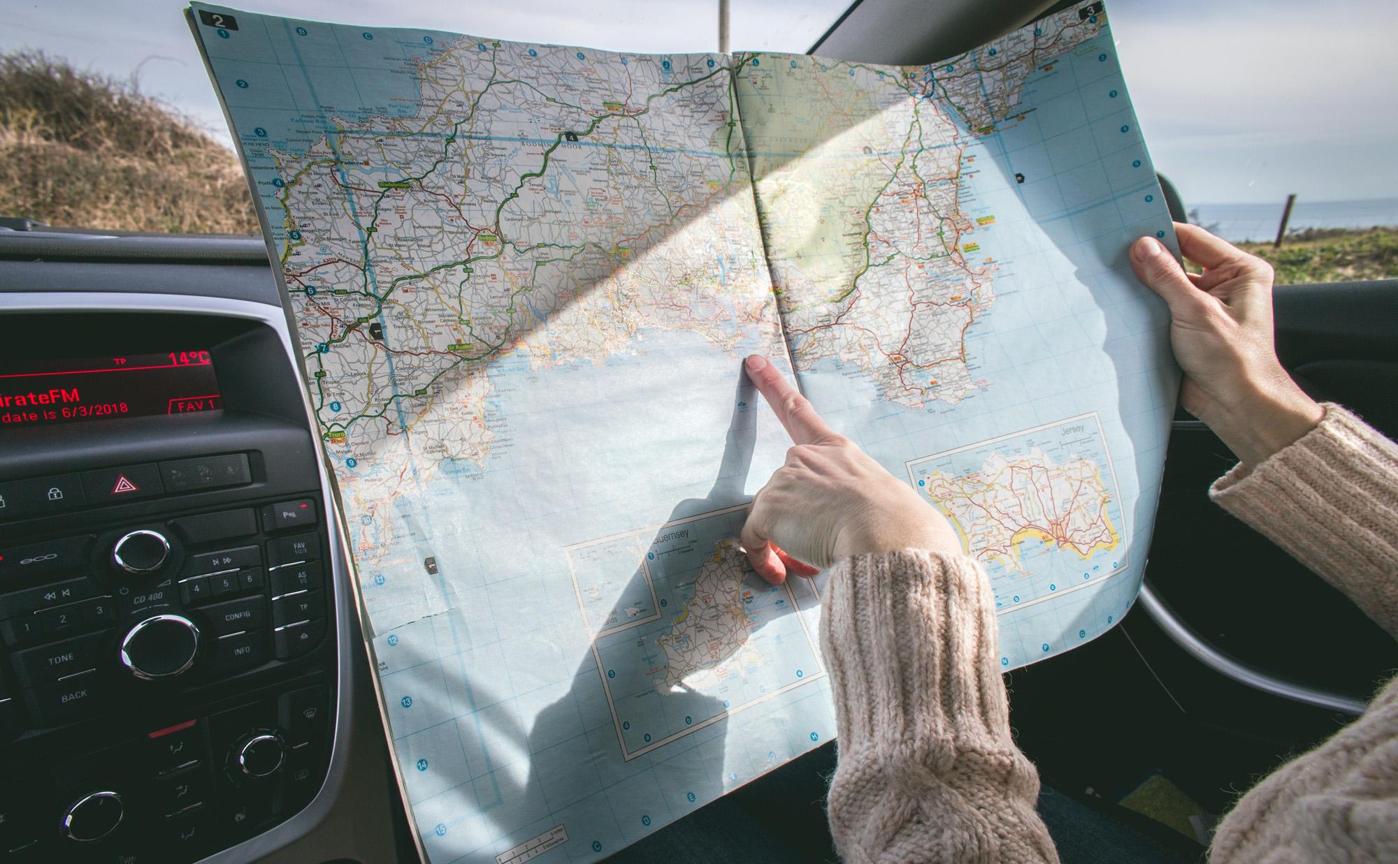 Cartina geografica turismo