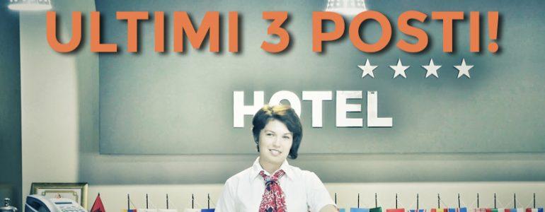 Ultimi 3 posti per il corso Front Office - UET ROMA