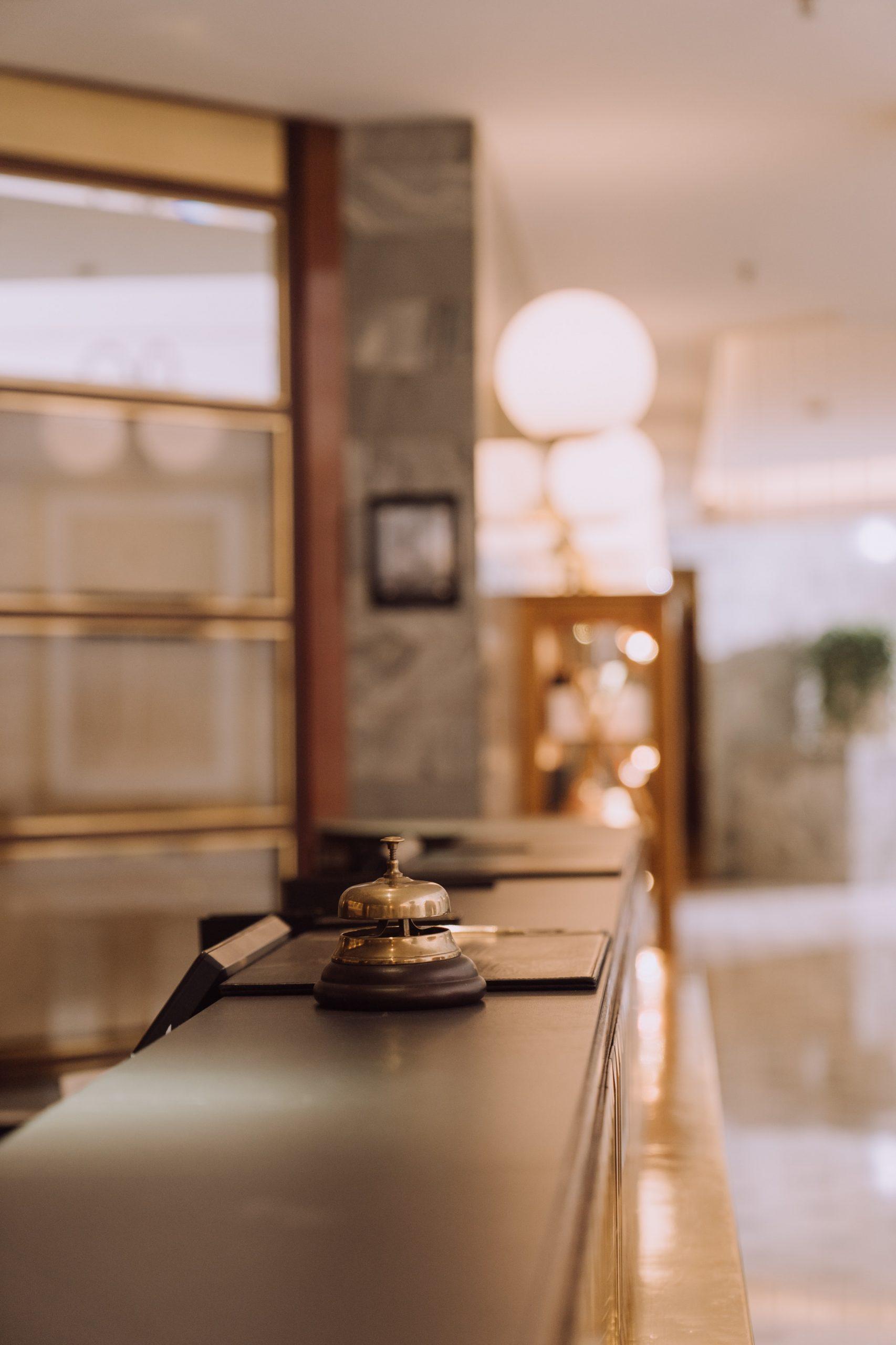 Foto di una hall in Hotel